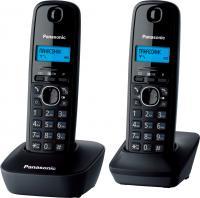 Беспроводной телефон Panasonic KX-TG1612  (серый) -
