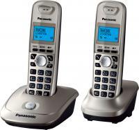 Беспроводной телефон Panasonic KX-TG2512 (платиновый) -