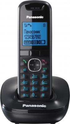 Беспроводной телефон Panasonic KX-TG5511  (Black, KX-TG5511RUB) - общий вид