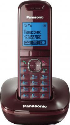 Беспроводной телефон Panasonic KX-TG5511  (Red, KX-TG5511RUR) - общий вид