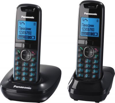 Беспроводной телефон Panasonic KX-TG5512  (Black, KX-TG5512RUB) - вид сбоку