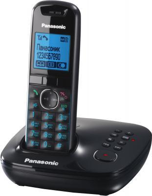 Беспроводной телефон Panasonic KX-TG5521 Black (KX-TG5521RUB) - общий вид