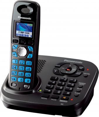 Беспроводной телефон Panasonic KX-TG8041 (титановый) - общий вид