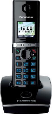 Беспроводной телефон Panasonic KX-TG8051 (черный) - общий вид