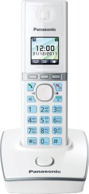 Беспроводной телефон Panasonic KX-TG8051 (White, KX-TG8051RUW) - общий вид