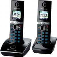 Беспроводной телефон Panasonic KX-TG8052 (черный) -