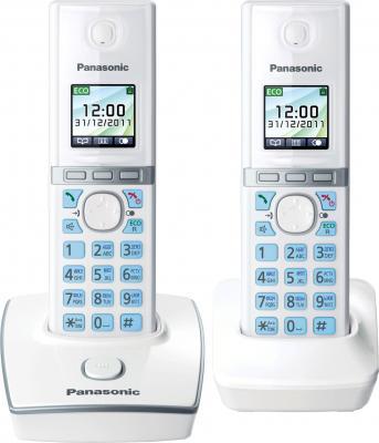 Беспроводной телефон Panasonic KX-TG8052  (White, KX-TG8052RUW) - общий вид