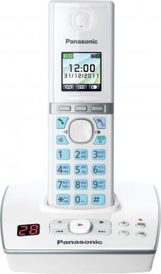 Беспроводной телефон Panasonic KX-TG8061 (White, KX-TG8061RUW) - общий вид