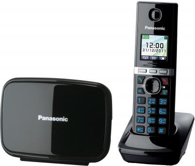 Беспроводной телефон Panasonic KX-TG8081 (Black, KX-TG8081RUB) - общий вид
