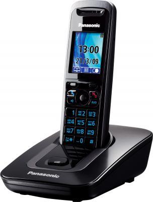 Беспроводной телефон Panasonic KX-TG8411 (Black (KX-TG8411RUB)) - общий вид