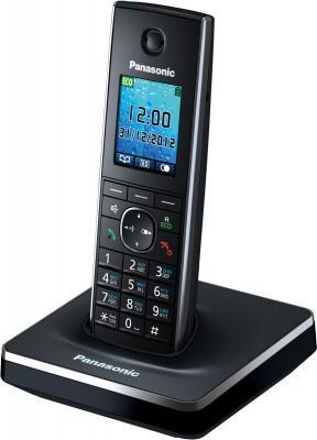 Беспроводной телефон Panasonic KX-TG8551 (Black, KX-TG8551RUB) - общий вид