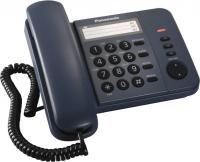 Проводной телефон Panasonic KX-TS2352  (синий) -