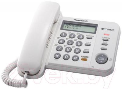 Проводной телефон Panasonic KX-TS2358  (белый)