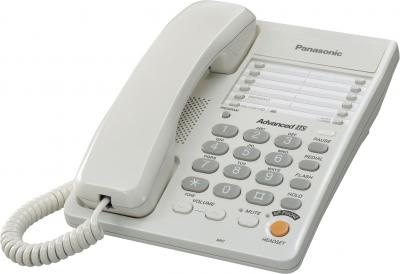 Проводной телефон Panasonic KX-TS2363  (белый) - общий вид