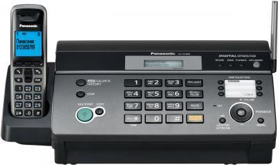 Факс Panasonic KX-FC968RU-T - вид спереди