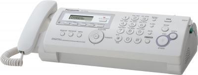 Факс Panasonic KX-FP218RU - вид сбоку