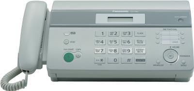 Факс Panasonic KX-FT982RU-W - вид спереди
