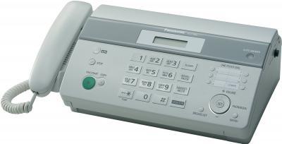 Факс Panasonic KX-FT982RU-W - вид сбоку