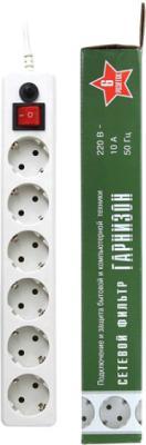Сетевой фильтр Гарнизон EHW-15 (белый) - общий вид