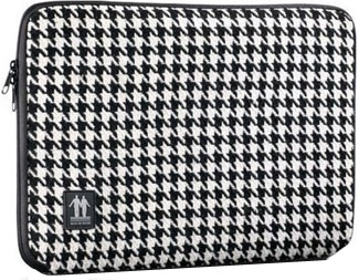 Чехол для ноутбука Walk On Water Dogtooth Black-White 13 - общий вид