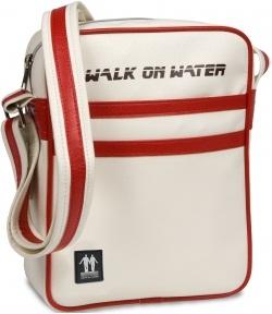Сумка для ноутбука Walk On Water Boarding Bag 10V Offwhite-Red - вид спереди