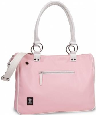 Сумка для ноутбука Walk On Water Girly Bag 15 Pink-White - вид спереди