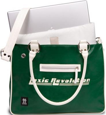 Сумка для ноутбука Walk On Water Girly Bag 15 Green-White - вид спереди