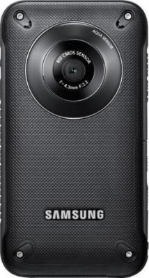 Видеокамера Samsung HMX-W300 Black-Titanium - вид сзади