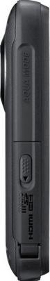 Видеокамера Samsung HMX-W300 Black-Titanium - вид сбоку