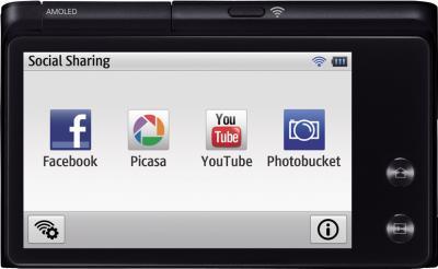 Компактный фотоаппарат Samsung MV900F Black - вид свзади