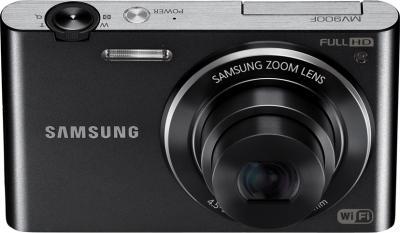 Компактный фотоаппарат Samsung MV900F Black - вид спереди