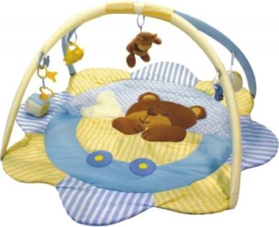 Игровой коврик Baby Mix ТК/3131С Мишка Голубой - общий вид