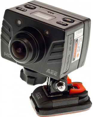 Экшн-камера AEE MagiCam SD19 - фронтальный вид