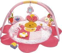 Развивающий коврик Baby Mix ТК/3133С Зайка Розовый -
