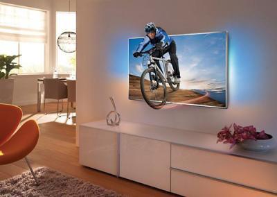 Телевизор Philips 40PFL7007T/12 - общий вид