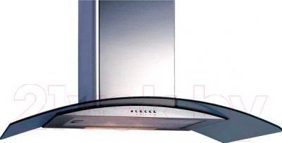 Вытяжка купольная Backer QD90A-G6L160T (нержавейка/светлое стекло)