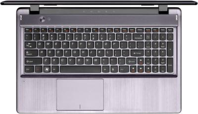 Ноутбук Lenovo IdeaPad Z580 (59352520) - клавиатура
