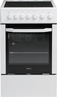 Кухонная плита Beko CSE 57100 GW - общий вид