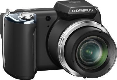 Компактный фотоаппарат Olympus SP-620UZ Black (с microSDHC 4Gb) - общий вид