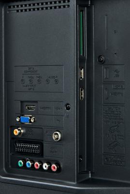 Телевизор Sharp LC-32LE144RU - интерфейсы