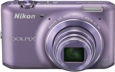 Компактный фотоаппарат Nikon Coolpix S6400 (Purple) - общий вид