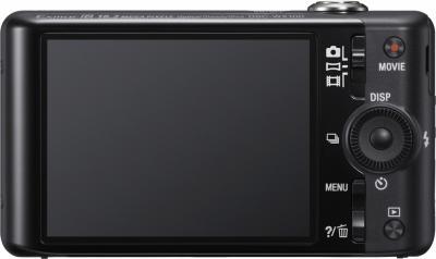 Компактный фотоаппарат Sony Cyber-shot DSC-WX100 (Black) - вид сзади