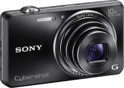 Компактный фотоаппарат Sony Cyber-shot DSC-WX100 (Black) - общий вид