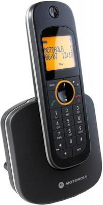 Беспроводной телефон Motorola D1001 Black - вид сбоку