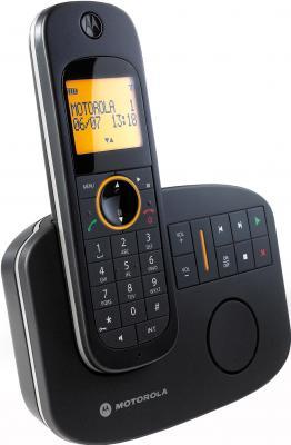 Беспроводной телефон Motorola D1011 Black - вид сбоку
