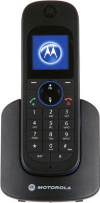 Беспроводной телефон Motorola D1101 (Black) - вид спереди
