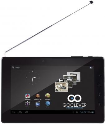 Планшет GoClever TAB T76 GPS TV - фронтальный вид