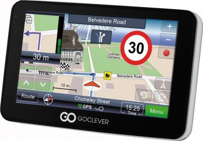 GPS навигатор GoClever Navio 705 Cam - вид сбоку
