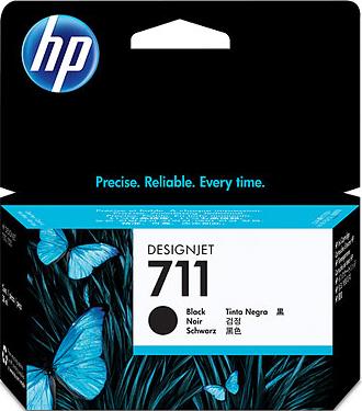 Картридж HP 711 (CZ129A) - общий вид
