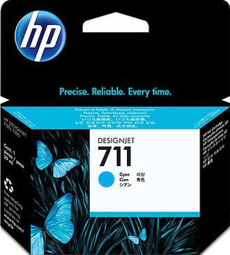 Картридж HP 711 (CZ130A) - общий вид